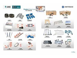 Jual Complete Spare Parts Supply for SINOTRUCK, SHACMAN and CAMC.