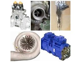 Fuel Injection Pump, Common Rail System, Turbocharger, Hydraulic System & Woodward Governor