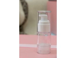 Jual Botol Airless White Clear 15ml