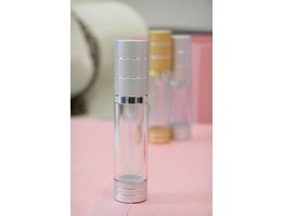 Jual Botol Airless Silinder Clear 20ml