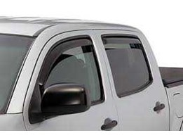 Hood Guard ( Deflecta), Dust Guard ( Back Visor), Slim Lines Weathershield ( Talang Air Slim), Full Weathershield ( Talang Air Jumbo), Head Light Protector, Cargo Liner, Tonneau Cover ( for Double Cabin), Canopy ( for Double Cabin)