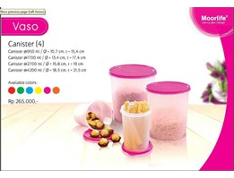 Jual Canister Vaso
