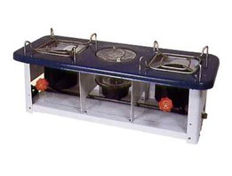 Jual Butterfly Double Burner Stove 2418