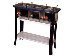 Jual Butterfly Double Burner Stove With Legs 2419
