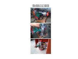 CROSSOVER, WELLHEAD, PUP JOINT, ADAPTER SPOOL, GATE VALVE, CASING HEAD, CASING SPOOL