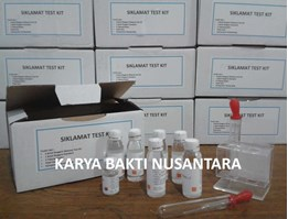 SIKLAMAT TEST KIT, SIKLAMAT TEST KIT WITH REAGENT STANDARD, JUAL SIKLAMAT TEST KIT, REAGENT FOOD SECURITY KIT, REAGENT KIT SIKLAMAT