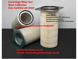 Filter Cartridge for Dust Collector, Gas Turbine, Heavy duty engine.