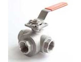 501S, 3 Way Ball Valve, ISO Direct Mount