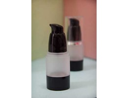 Jual Botol Airless Black Frosted 15ml