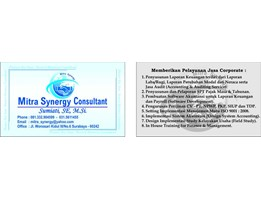 Jual MITRA SYNERGY CONSULTANT