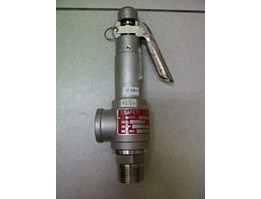 BOWLING SAFETY VALVE 1INCH SS304-20KG