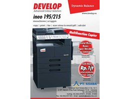 Jual DEVELOP INEO 195 / 215 ( MONOCHROME) Small Speed
