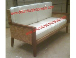 Jual : 2 Seater Rattan Sofa, Jepara furniture Rattan furniture | CV. DE EF INDONESIA DFRIS - J006