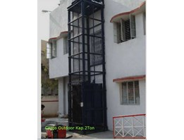 Jual Cargo Lift Outdoor