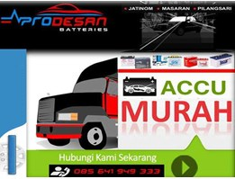 Jual Prodesan Car and Motorcycle Batteries