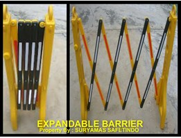 Jual EXPANDABLE BARRIER/ ROAD BARRIER MODEL LIPAT( PORTABLE)