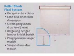 Jual Roller Blind Sharp Point Spring Flexy Stop