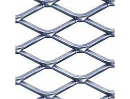 Jual Galvanized, Actual Supply, Diamond Mesh Expanded Metal, Mild Steel, Hot Dipped Galvanized Size 1.2 Mtr x 3 Mtr x 3 Mm Mesh Swm x Wm ( 35 Mm x 76 Mm) DM3045 / BM03045