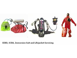 Jual SCBA, EEBD IMMERSION SUIT & LIFE JACKET SERVICING