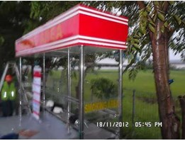 Jual halte/ smoking area