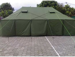 Terpal tenda canvas