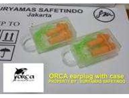 EAR PLUG ORCA seperti ultrafit 3M with transparant case Taiwan