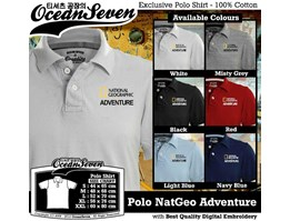 Jual Kaos Polo National Geographic