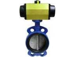 BUTTERFLY VALVES with PNEUMATIC ACTUATOR, Cartridge Type Suitable for installation between Flanges of : PN10, JIS 10K, ANSI 150# Size : 2 , 2 1/ 2 , 3 , 4 , 5 , 6 , 8  ( worm gear), 10 , 12  Size : DN50, DN65, DN80, DN100, DN125