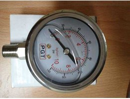 Pressure Gauge 100 Psi / 7 Bar – Inline