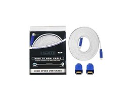 KABEL FLAT HDMI 5m Gold Jack ( High Quality )