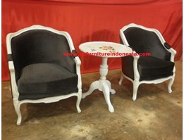 Jual jepara Mebel, French Arm Chair for Terrace, French Furniture | CV. DE EF INDONESIA Defurnitureindonesia DFRITeras-4