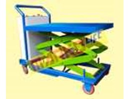 Jual Table Lift Dual stage, Scissor Lift Table