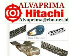 Jual HITACHI ROLLER CHAIN PT. ALVA ANSI STANDARD BS STANDARD HOLLOW PIN CHAIN HITACHI ROLLER CHAIN