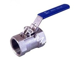 Jual BALL VALVE 1PC STAINLESS STEEL 316 THREAD ( DRAT)