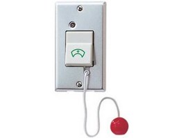 Jual NBR-7AS Bathroom pull cord switch with manual reset for use with the NEM system.