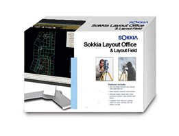 Sokkia Layout Field and Office Software