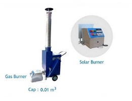 Jual INCINERATOR PORTABLE ( SLS-IN 14) SOLAR, READY STOCK