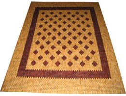 karpet kayu antik