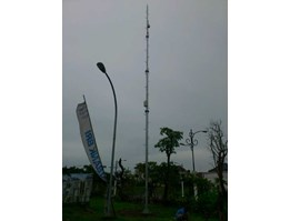 Jual TIANG CCTV ( HIGH MESS) 15MTR