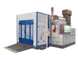 Spray Booth Oven Double Blower