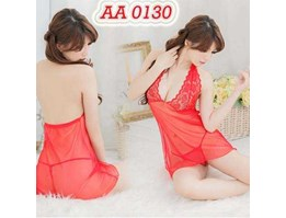 Jual Sexy Lingerie Import AA 0130 Red