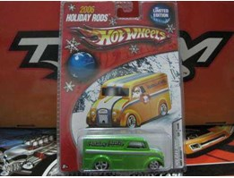 HOTWHEELS DAIRY DELIVERY GREEN ( HOLIDAY RODS 2006)