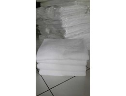 Jual handuk putih full cotton