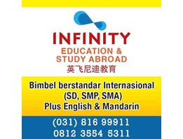 Jual INFINITY EDUCATION & STUDY ABROAD