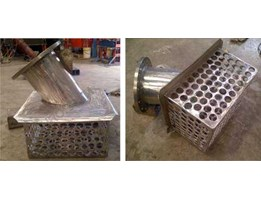 SS Strainer 304, Spool pipe and Flange