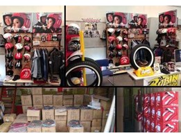Jual The Rolling Stones Helmet and Motorcycle Items