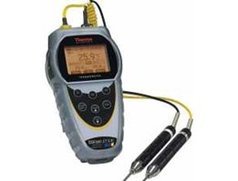 Thermo Scientific Temp 300 dual-input thermocouple datalogger with rubber armour/ stand