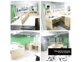 Jual Meja Kerja / Partition Desk / Workstation Murah di Surabaya