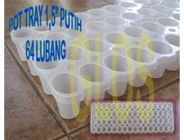 Jual Pot Tray 1,5 Putih