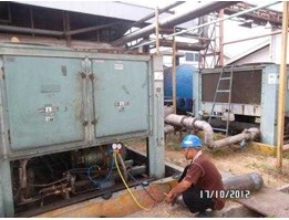 Jual Relokasi, contrac service air cooled chiller